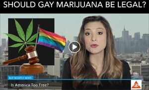 Should gay marijuana be legal