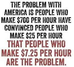 The problem with America