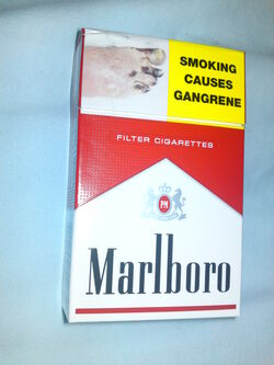Marlboro red pack front NZ