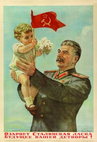 File:Stalin and child.jpg