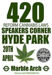 London 2013 April 20 UK