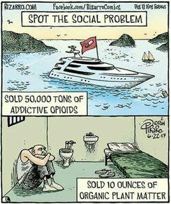 Spot the social problem