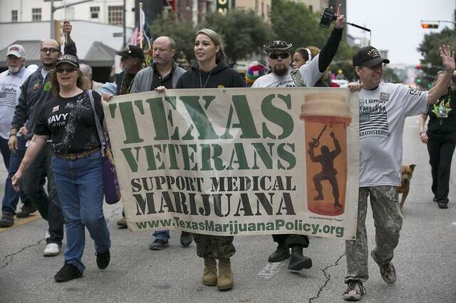 File:Austin Texas 2016 Nov 11 veterans, medical marijuana marchers.jpg