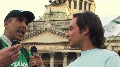 Marcha Mundial de la Marihuana 2010, Argentina - Parte 3 4 (Congreso)