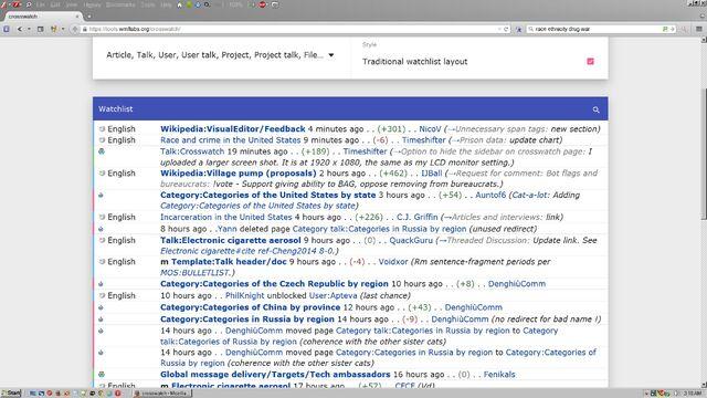 File:Crosswatch screenshot. Traditional watchlist layout.jpg