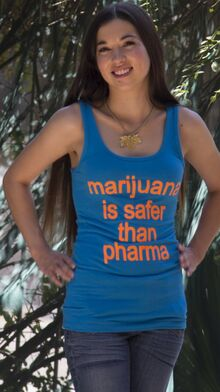 Marijuana is safer than pharma