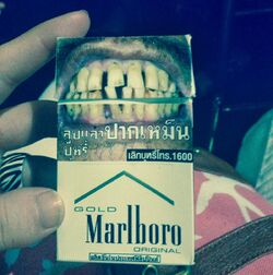 Thailand cigarettes and warnings