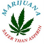 Marijuana is safer than aspirin