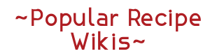 Poprecipeswikis