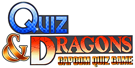 Quiz & Dragons Capcom Quiz Game logo