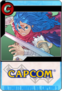Ultimate Marvel vs. Capcom 3 - Ryu card