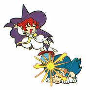 Pocket Fighter Tessa vs Felicia