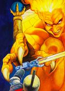 GamePro Arthur vs Lucifer