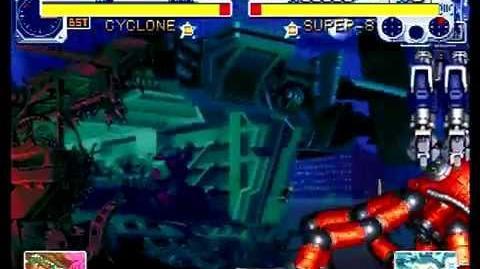 Cyberbots Fullmetal Madness (Sega Saturn) Arcade Mode as Bao and Mao (Cyclone)