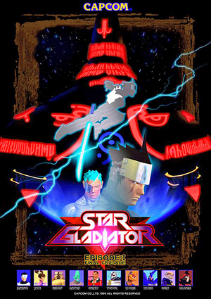 Star Gladiator - Episode 1 Final Crusade arcade flyer