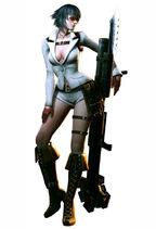 Lady 3D model DMC4