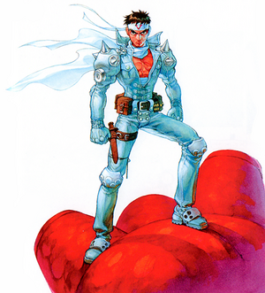 Cyberbots-JinSaotome-standing-pose