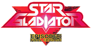 Star Gladiator - Episode 1 Final Crusade arcade logo