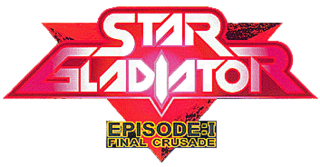 Star Gladiator - Episode 1 Final Crusade arcade logo