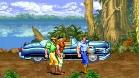 (Demo) キャデラックス -恐竜新世紀- Cadillacs and Dinosaurs (C)Capcom 1993