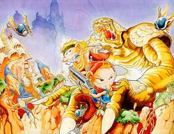 Three Wonders promo artwork Japan