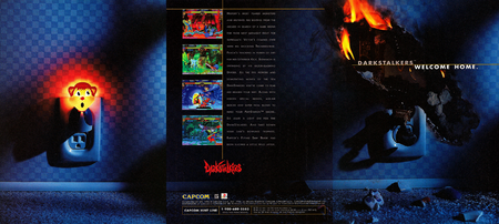 Darkstalkers Advertisement