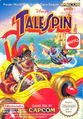 Disney's TaleSpin Capcom NES box art