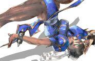 Chun Li Spinning BirdKick