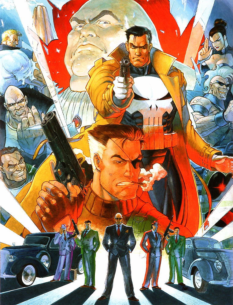 The Punisher | Capcom Database | FANDOM powered by Wikia