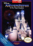 Adventures in the Magic Kingdom US Box Art Capcom