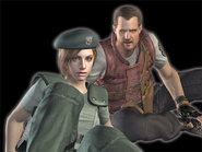 RE Remake Barry and Jill