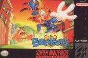 Bonkers Capcom SNES cover art