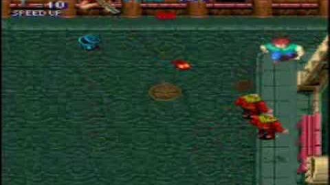 Level 1 of Capcom's