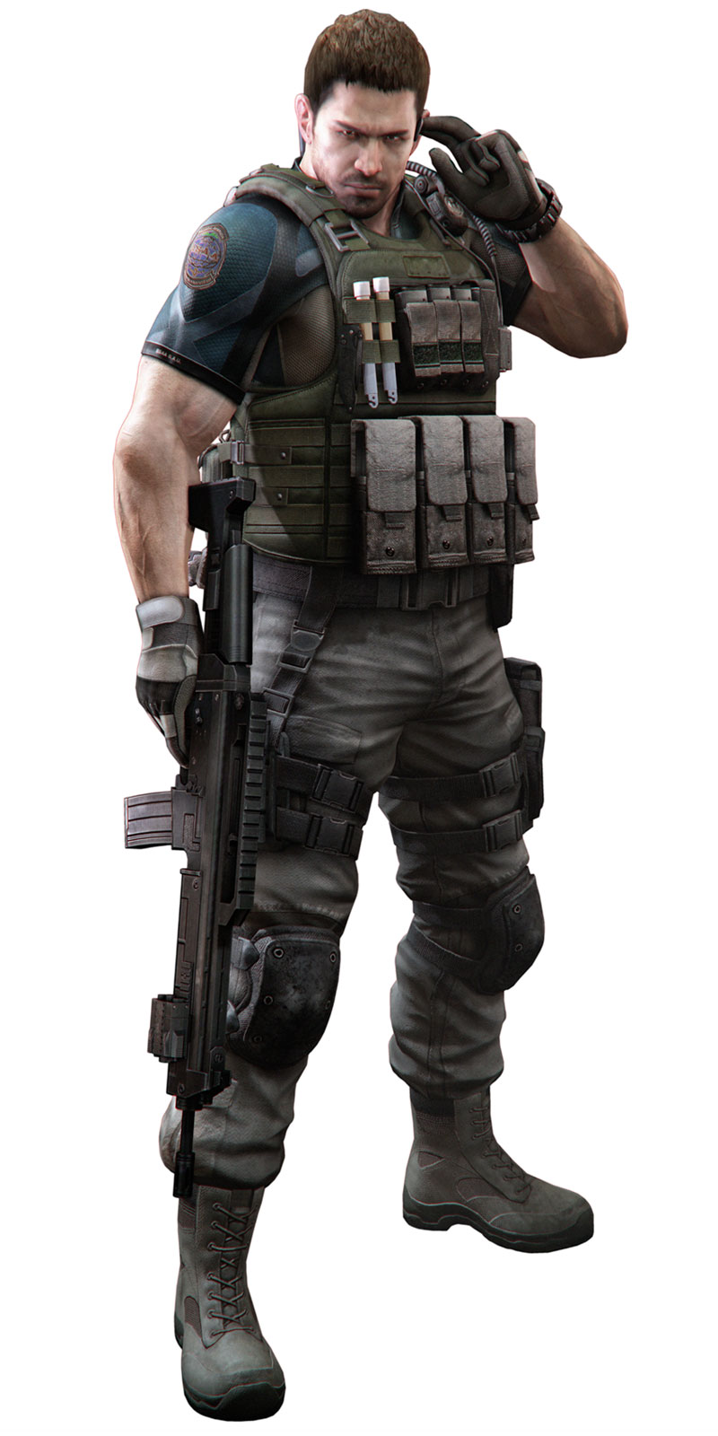 Chris Redfield Capcom Database Fandom