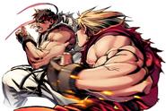 SF2TR-Ryu&Ken