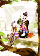 Ranmaru and Nōhime