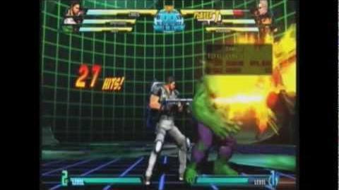 Marvel Vs Capcom 3 Chris Combos