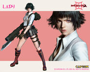 Lady wallpaper - Devil May Cry 3