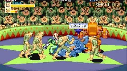 Capcom System 1 - Captain Commando Intro
