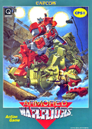 Armored Warriors Flyer