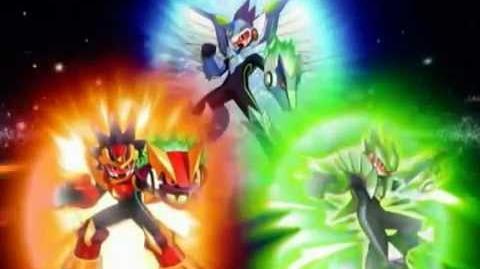 Ryuusei no Rockman Mega Man Star Force Trailer
