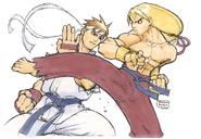 SFA-Ryu&Ken-Artwork