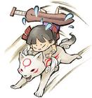 Kuni and Chibiterasu Alt