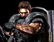 RE5 Gold Chris Heavy Metal