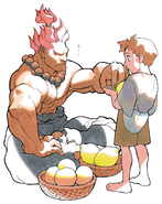 Akuma and Young Ryu