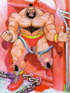 SFII Zangief Art