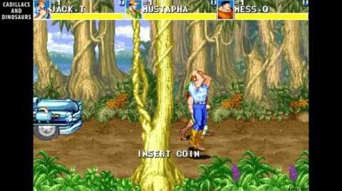 Cadillacs and Dinosaurs - arcade beat em up - 1992