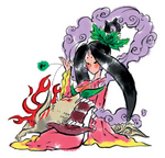 Sakuya and Amaterasu