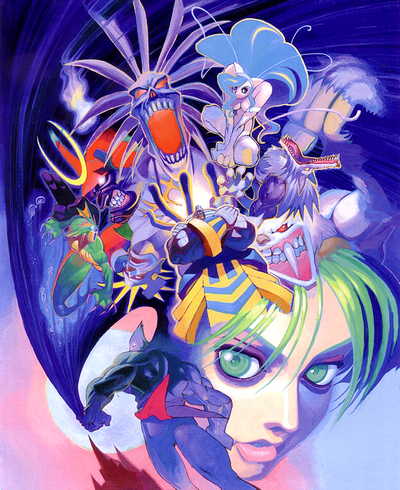 Darkstalkers Night Warriors Art