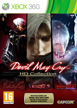 Devil May Cry HD Collection Xbox 360 cover